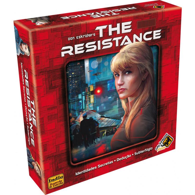 Caixa do jogo The Resistance