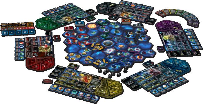 Componentes de Twilight Imperium 4
