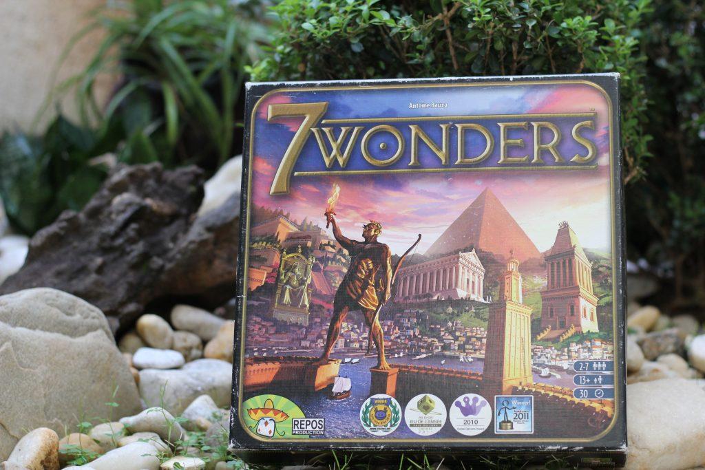 Caixa do jogo 7 Wonders