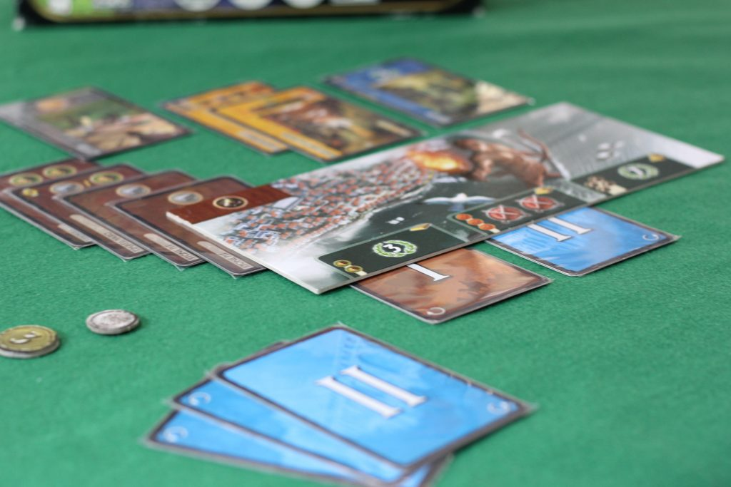 Cartas do jogo 7 Wonders