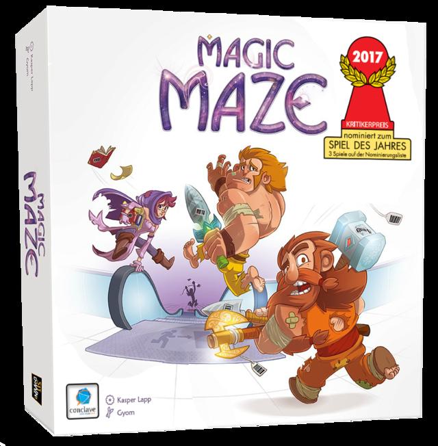 Caixa do jogo Magic Maze