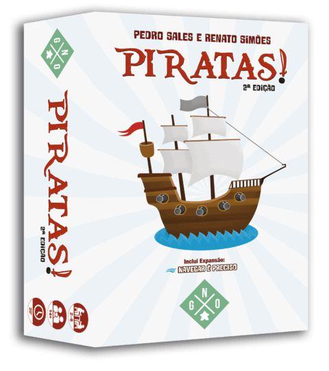 Caixa do jogo Piratas!